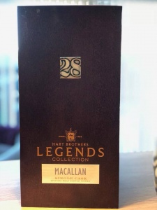 Hart Brothers Legends Collection Macallan Single Cask - 28 years