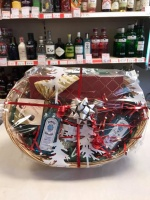 Miniature Gin Gift Basket