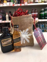 Whisky Secret Santa Gift Bag
