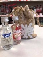 Absolut Vodka Miniatures Gift Bag