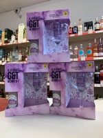 Whitley Neill Parma Violet Gin Gift Set - (5cl) with Glass + Tonic