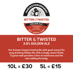 Harviestoun Bitter & Twisted, Polypin