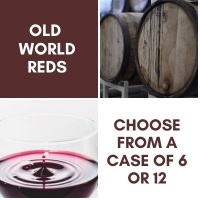 Old World - Red Wine Case
