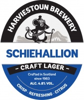 Harviestoun Schiehallion Lager Polypin