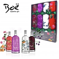 Boe Gin Christmas Crackers 4 pack