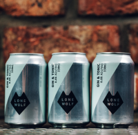 Lone Wolf Gin and Tonic Cans
