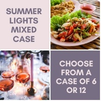 Summer Lights - Rose + White Mixed Case