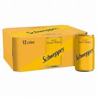 Schweppes Tonic Can 12pk
