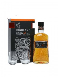 Highland Park 12 Year Old Glass Gift Set