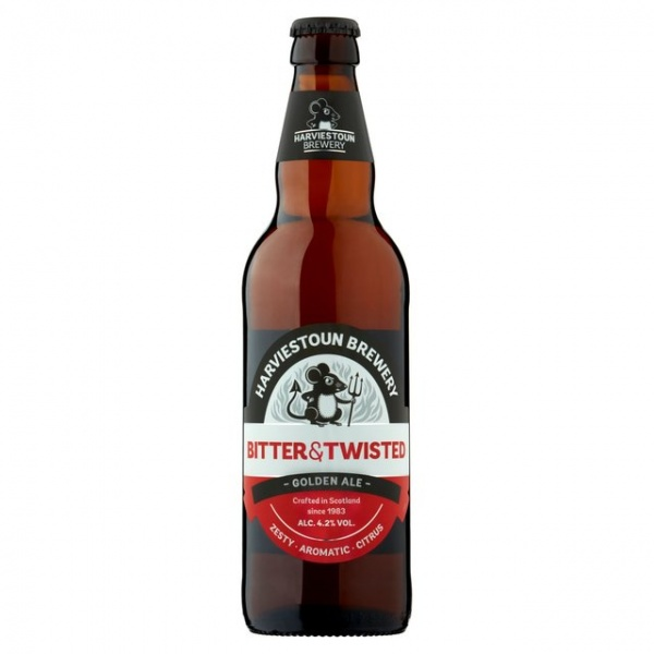 Harviestoun Bitter + Twisted 500ml 8 pack