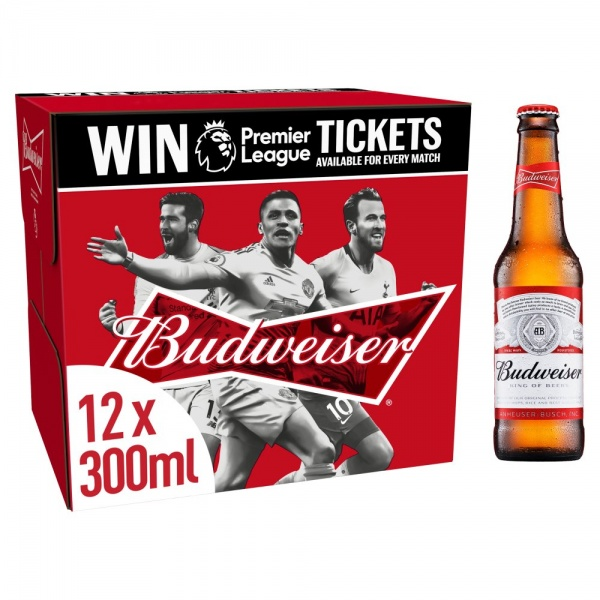 Budweiser 12 Pack 300ml