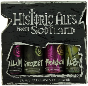 Williams Brother Historic ales from Scotland Gift Pack