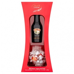Baileys & Lindt Chocolate Gift Set, With Glass
