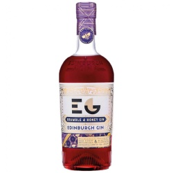 Edinburgh Honey and Bramble Gin, Full Strength 40%abv