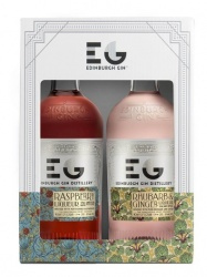 Edinburgh Gin Liqueur, Twin Gift Set - 20cl