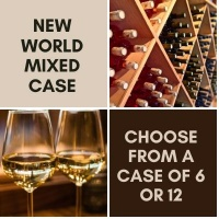 New World Wine - Mixed Wine Case