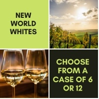 New World - White Wine Case