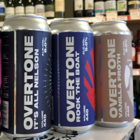 Overtone 'New Brews' Selection - Box of 6