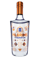 Pilgrims Original Gin 70cl, With Glass