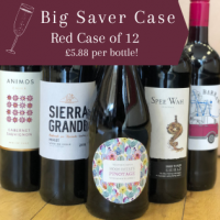 Ellie's Big Saver - Red Wine Case of 12
