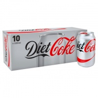 Diet Coke 10 Pack Cans