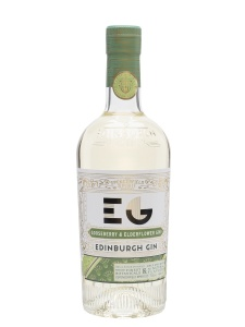Edinburgh Gin Gooseberry and Elderflower, Full Strength 40%