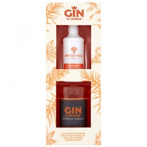 Whitley Neil Blood Orange Gin + Candle Gift Set